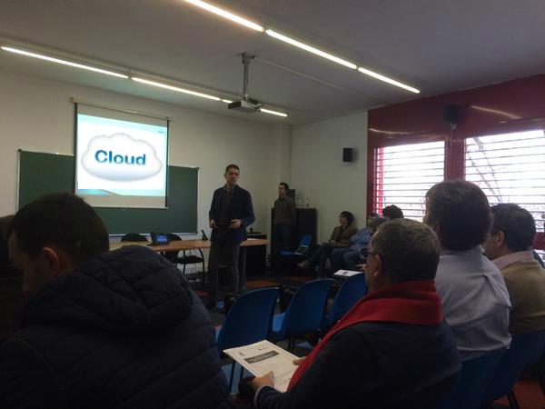 Cozentic imparte seminarios de Cloud en ProCornellá