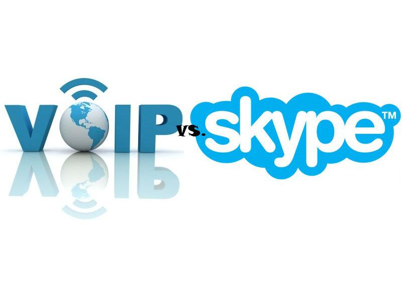 Centralita Ip virtual vs Skype