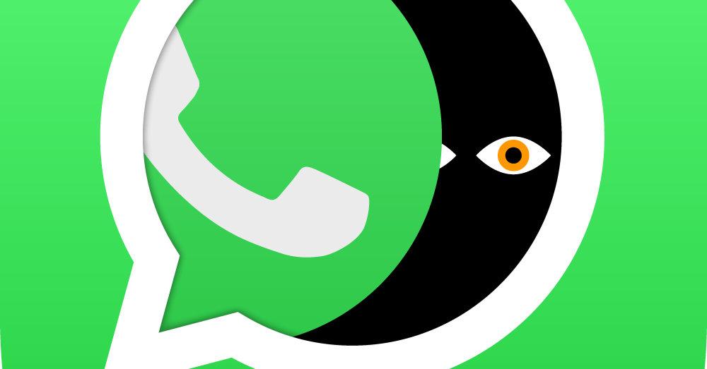 Falta de privacidad de WhatsApp